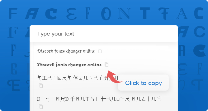 Discord fonts changer online